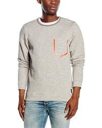 grauer Pullover von Tom Tailor Denim