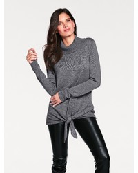 grauer Rollkragenpullover von ASHLEY BROOKE by Heine