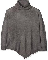grauer Rollkragenpullover von Tom Tailor