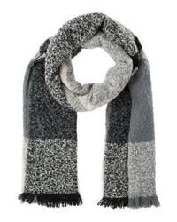 grauer Schal mit Karomuster von Even&Odd