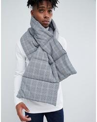 grauer Schal mit Schottenmuster von ASOS DESIGN