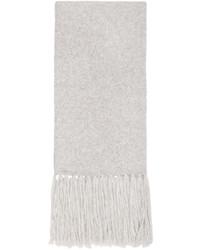 grauer Schal von AMI Alexandre Mattiussi