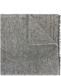 grauer Schal von Brunello Cucinelli