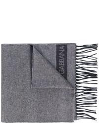 grauer Schal von Dolce & Gabbana