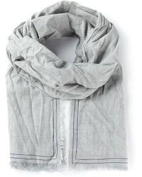 grauer Schal von Faliero Sarti