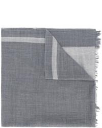 grauer Schal von Yohji Yamamoto