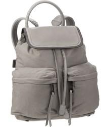 grauer Segeltuch Rucksack von Marc O'Polo