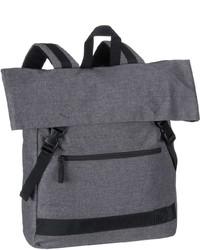 grauer Segeltuch Rucksack von Strellson