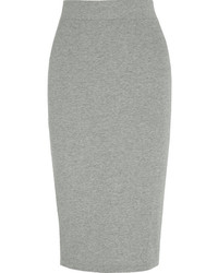 grauer Strick Bleistiftrock von James Perse