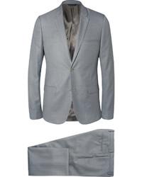grauer Wollanzug von Calvin Klein Collection
