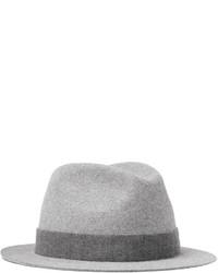 grauer Wollhut von Loro Piana