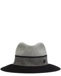 grauer Wollhut von Maison Michel