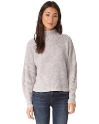 grauer Wollpullover von Rebecca Minkoff