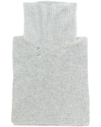 grauer Wollrollkragenpullover von Lanvin