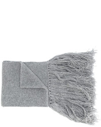 grauer Wollschal von Lanvin