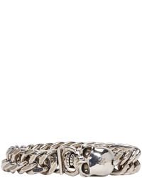 graues Armband von Alexander McQueen