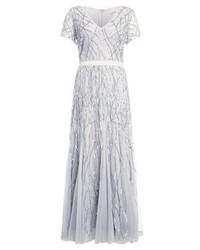 Graues Ausgestelltes Kleid von Lace & Beads Curvy