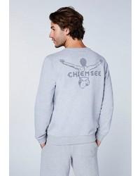 graues bedrucktes Sweatshirt von Chiemsee