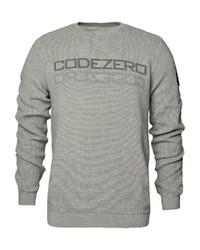 graues bedrucktes Sweatshirt von CODE-ZERO