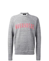 graues bedrucktes Sweatshirt von DSQUARED2