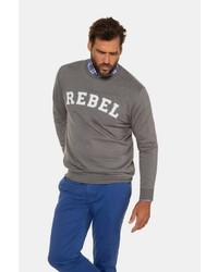graues bedrucktes Sweatshirt von JP1880
