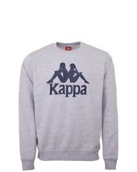 graues bedrucktes Sweatshirt von Kappa