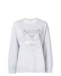 graues bedrucktes Sweatshirt von Kenzo