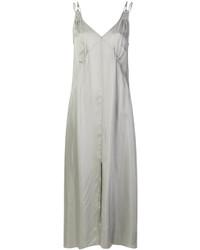 graues Camisole-Kleid von Forte Forte