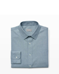 graues Chambray Businesshemd
