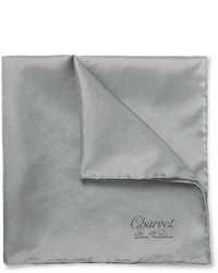 Graues Einstecktuch von Charvet