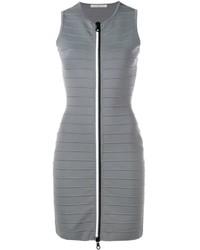graues figurbetontes Kleid von Christopher Kane