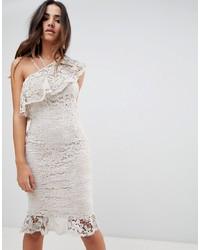 graues figurbetontes Kleid von Girl In Mind