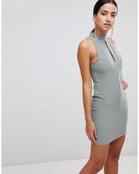 graues figurbetontes Kleid von Love