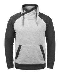 graues Fleece-Sweatshirt von Jack & Jones