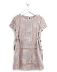 graues gepunktetes Kleid von Nice Things