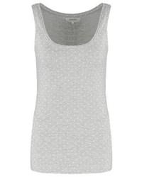 graues gepunktetes Trägershirt von Zalando Essentials