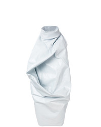 graues gerade geschnittenes Kleid von Rick Owens