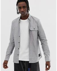 graues Jeanshemd von Calvin Klein