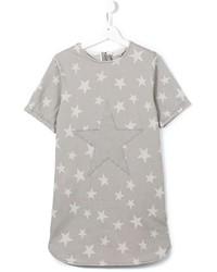 graues Jeanskleid mit Sternenmuster von Stella McCartney