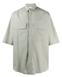 graues Kurzarmhemd von Ermenegildo Zegna