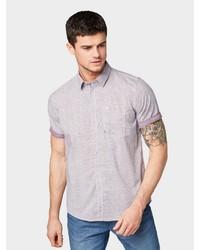 graues Kurzarmhemd von Tom Tailor