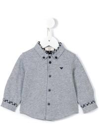 graues Langarmhemd von Armani Junior