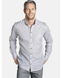 graues Langarmhemd von Charles Colby