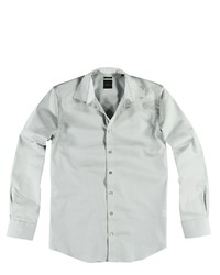 graues Langarmhemd von ENGBERS