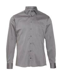 graues Langarmhemd von HATICO