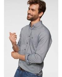graues Langarmhemd von Joop Jeans