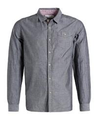graues Langarmhemd von khujo