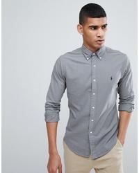 graues Langarmhemd von Polo Ralph Lauren