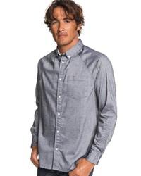 graues Langarmhemd von Quiksilver
