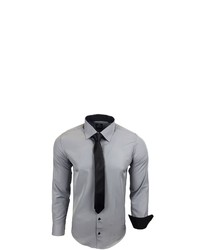 graues Langarmhemd von RUSTY NEAL